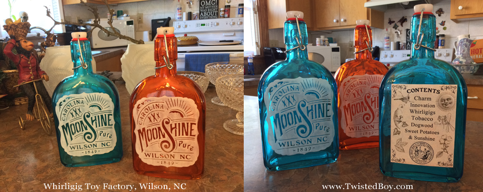 Moonshine Bottle